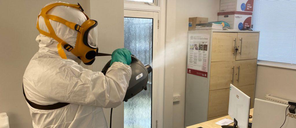 office sanitisation london